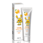 卡芭兔无氟防蛀儿童牙膏40克(香橙味)