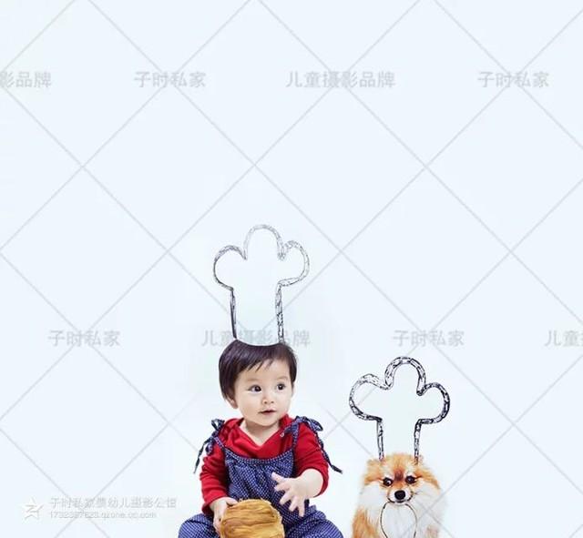 宝宝的周岁照片 宝宝拍的一组有创意的周岁照片,么么哒