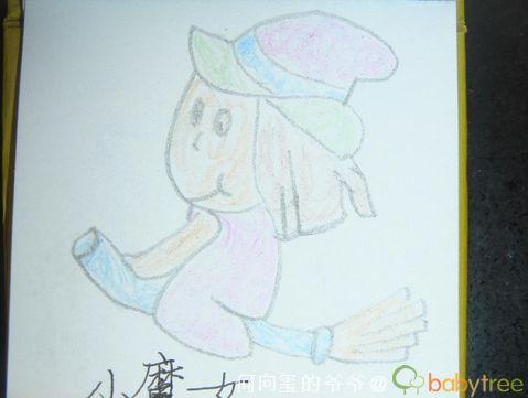 字,我学画儿童简笔画