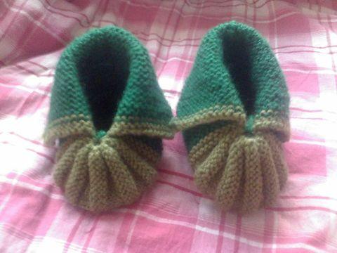 我织的宝宝鞋(有教程) - babytree 宝宝树大圈子 饰家理财版 - zxyxjm - zxyxjm的博客